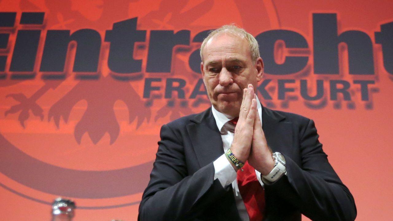 Петер Фишер после победы на выборах