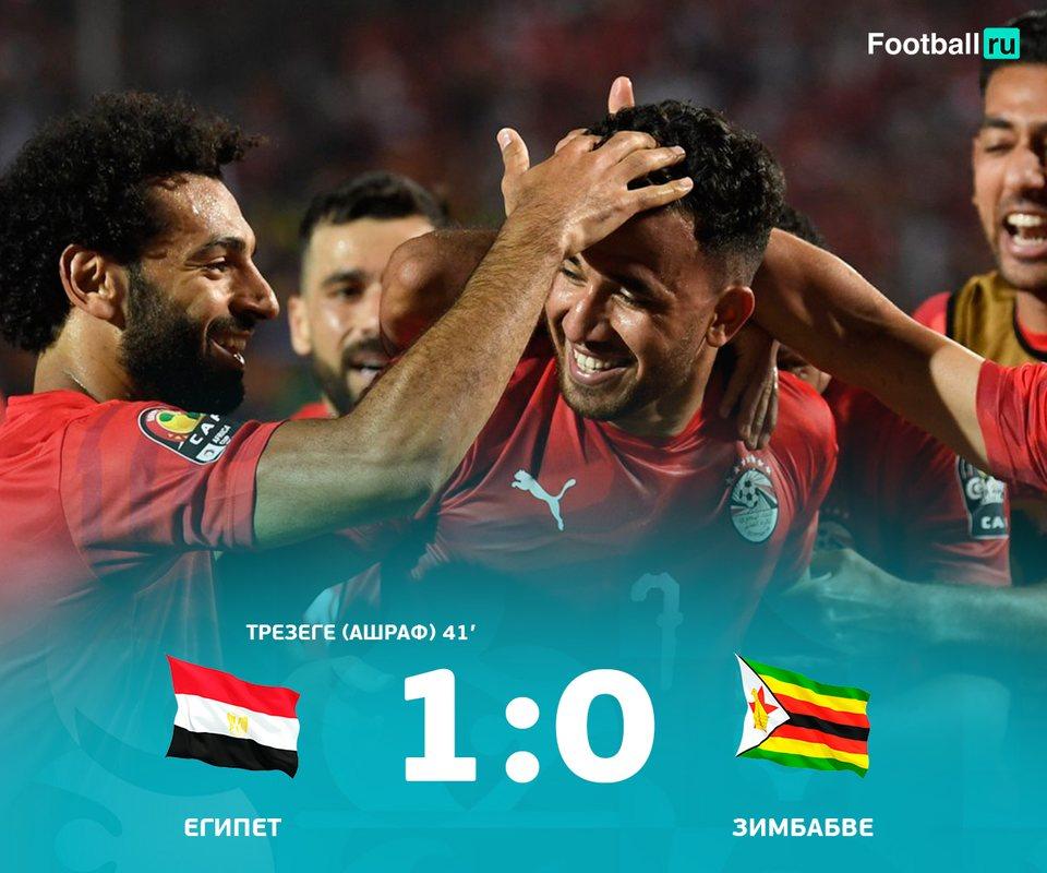 Египет начал КАН-2019 с победы