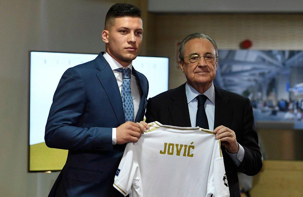Лука Йович представлен в роли игрока Реала