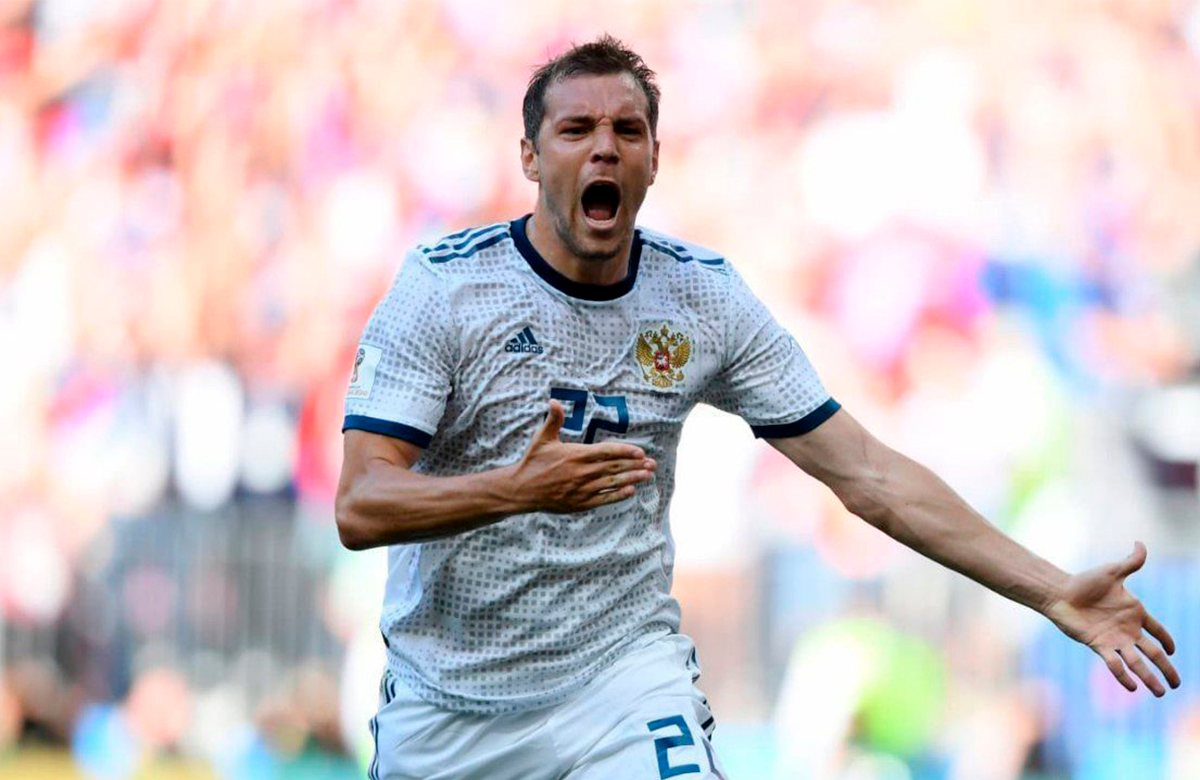 Дзюба вошел в список самых успешных звезд России