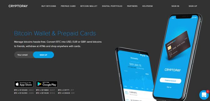 Официальный сайт кошелька Cryptopaу