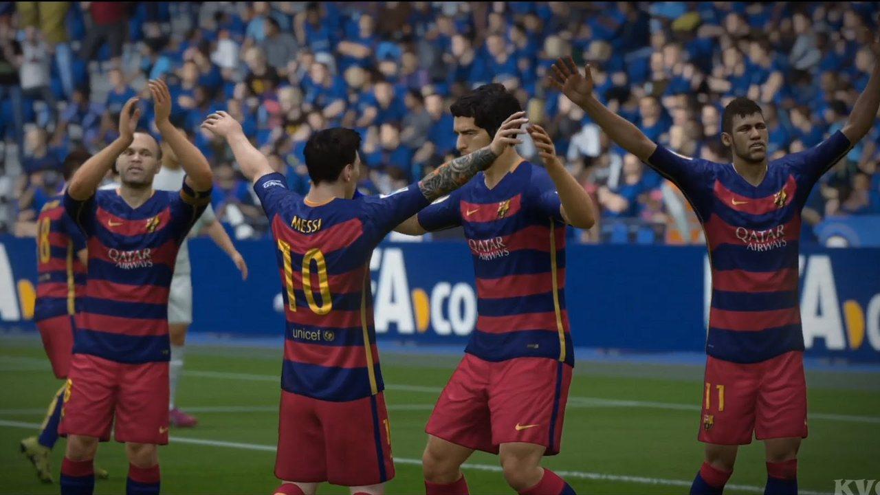 Барселона в FIFA 19 умеет играть по-разному