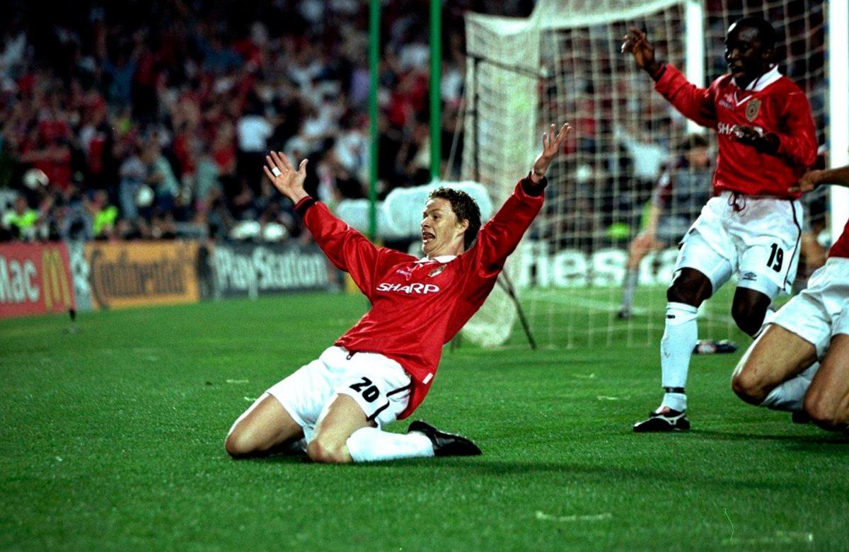 Победный гол Сульшера в 1999 году
