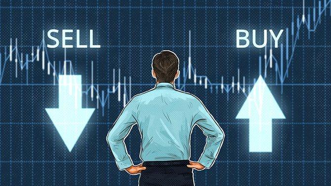 Падение и рост цены биткоина