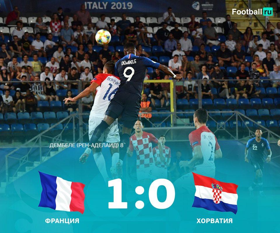 Франция - Хорватия 1:0