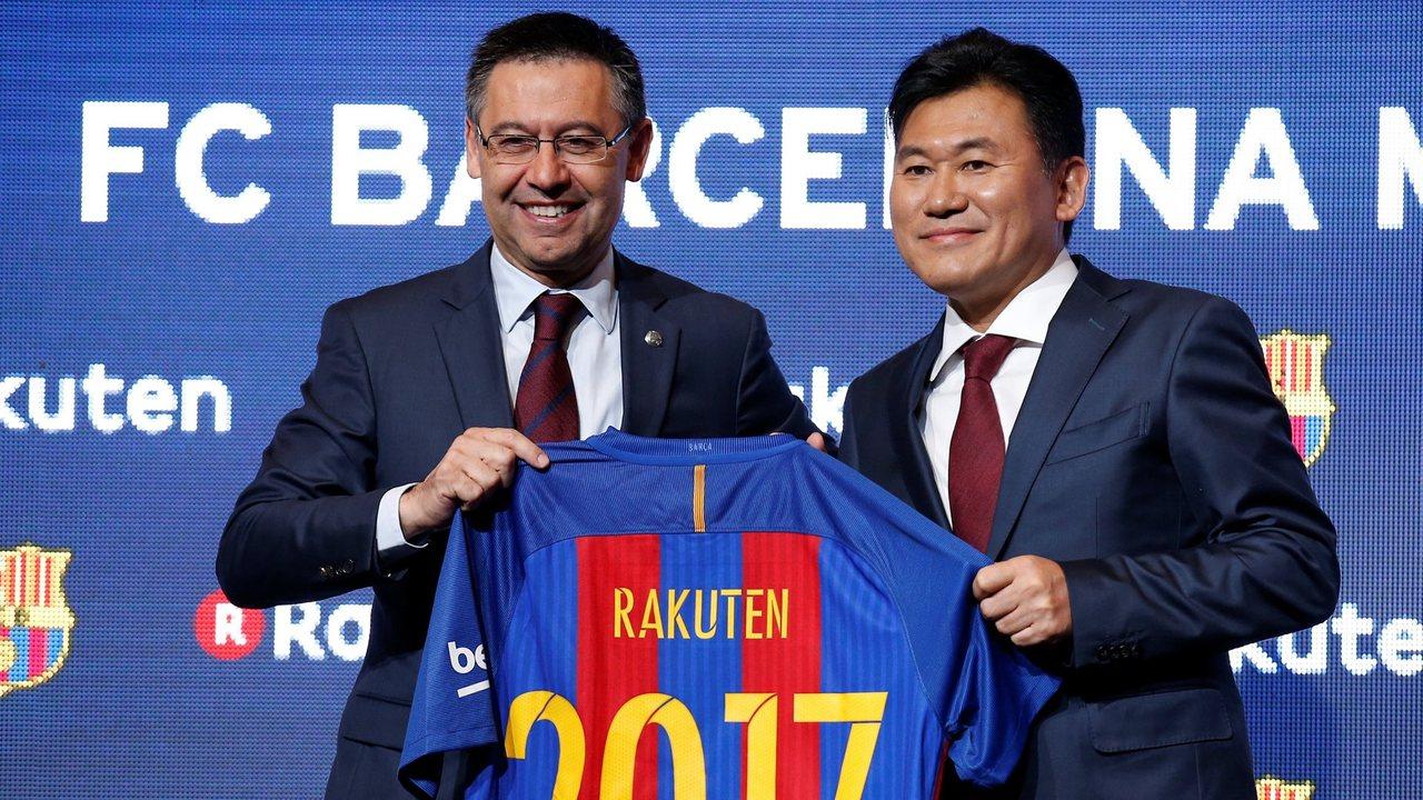 Жозеп Бартомеу заключает контракт с Rakuten
