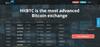 Официальный сайт криптовалютной биржи HitBTC  // Источник: hitbtc.com
