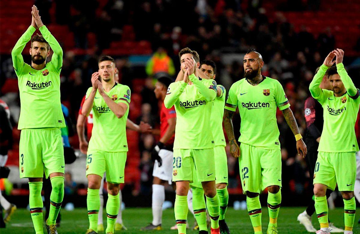 Барселона обыграла Манчестер Юнайтед 1:0