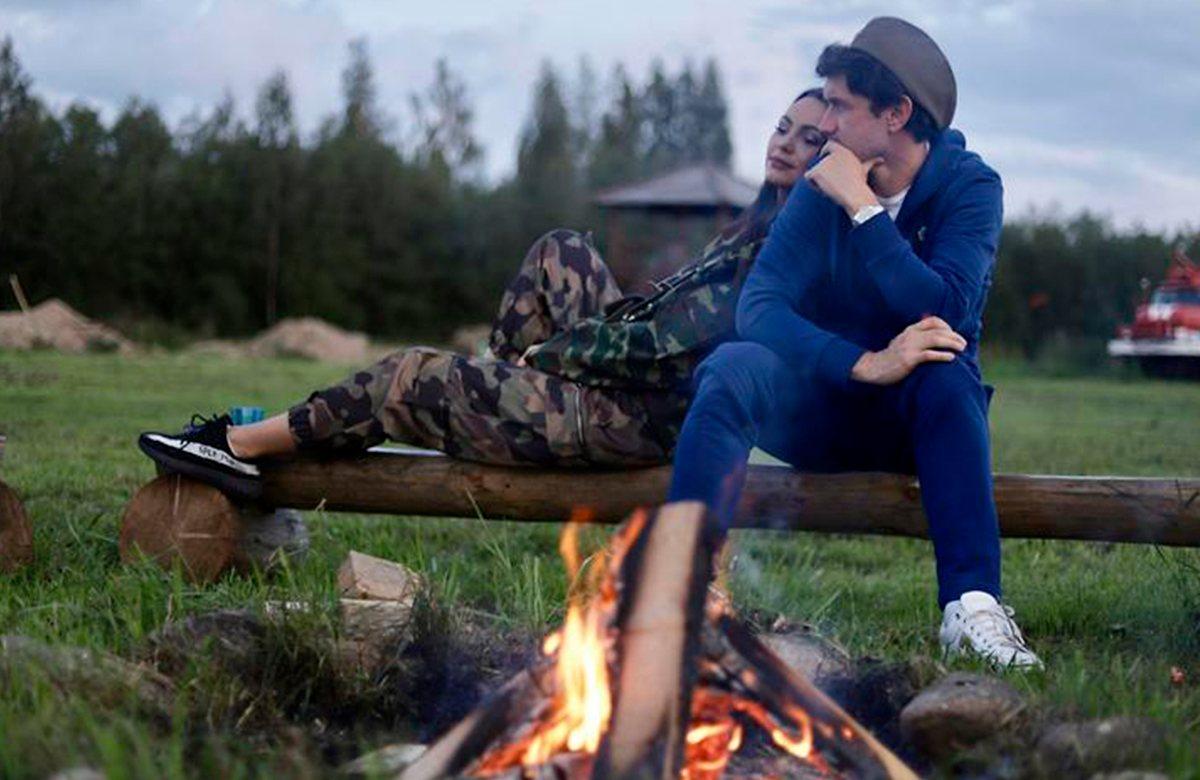 Инна и Юрий Жирковы празднуют ДР на полигоне