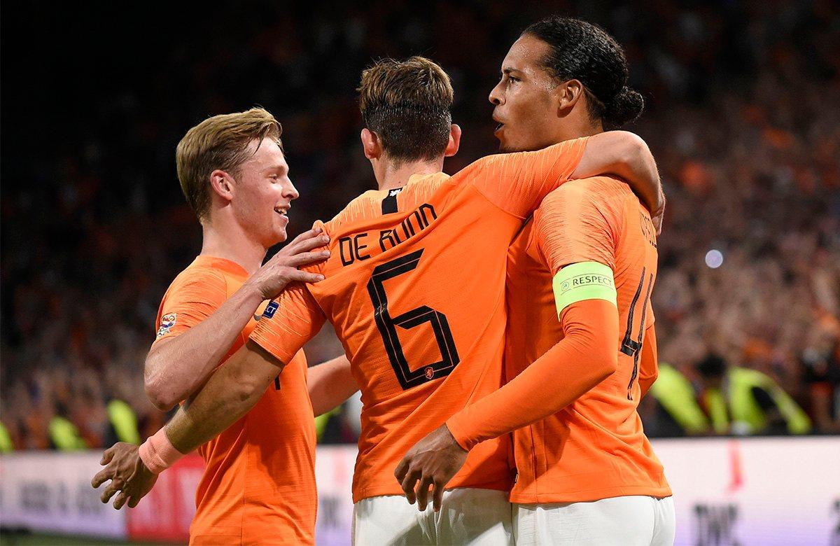Голландия назвала заявку на финальные матчи Лиги наций