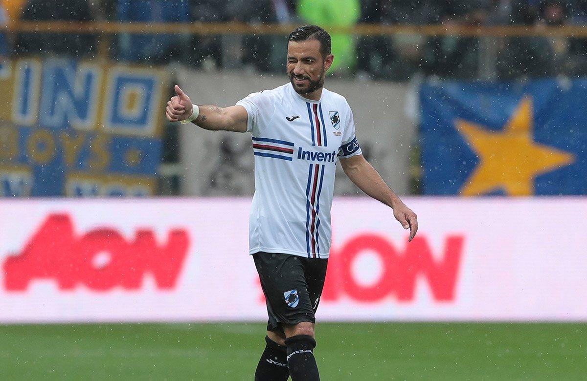 Фабио Квальярелла провел шикарный сезон в Сампдории