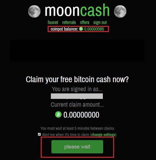 Moon bitcoin free money with bitcoins rate crystal palace west ham betting preview