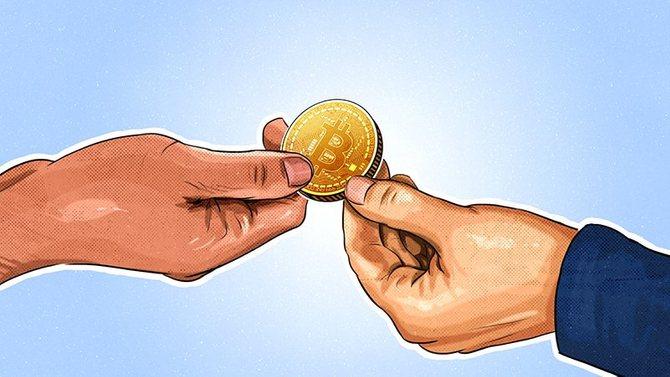 Криптовалютные транзакции в кошельке Трезор