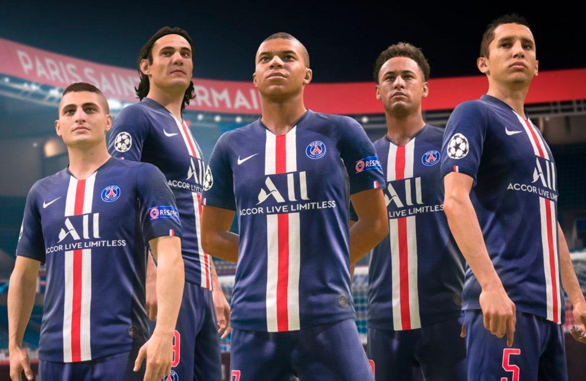 ПСЖ опубликовал рейтинги своих звезд в FIFA 20