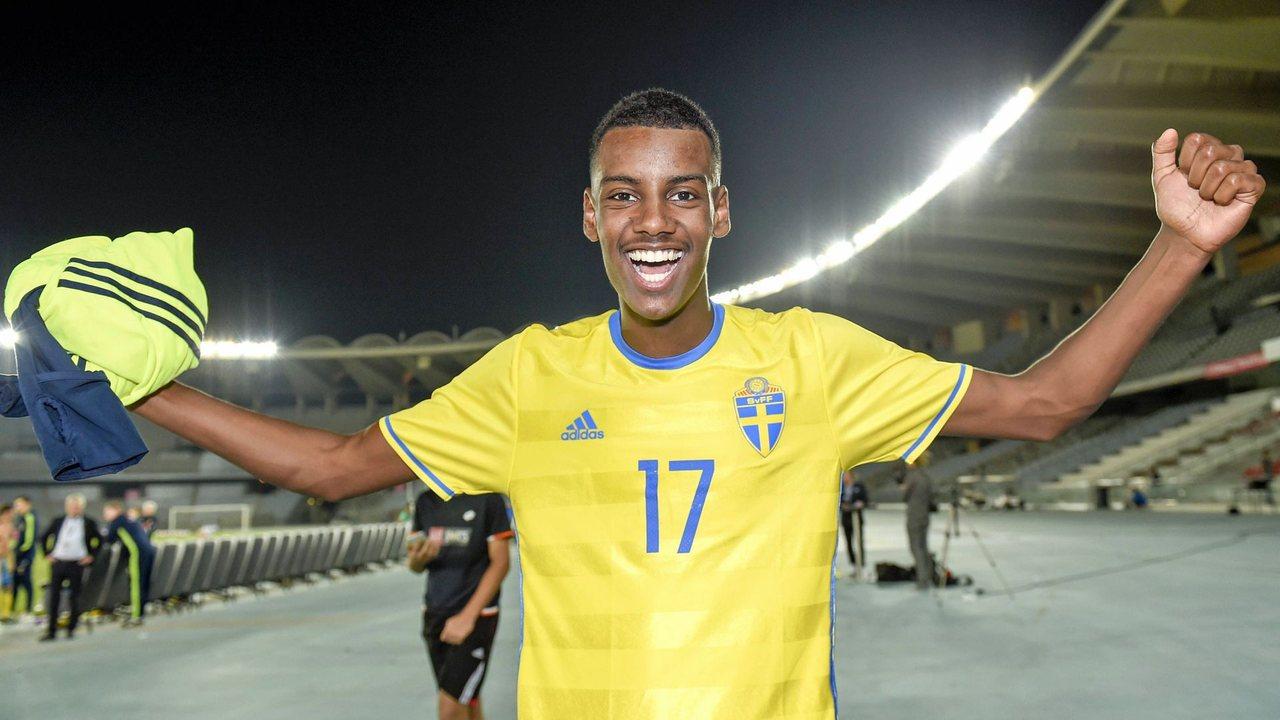 Александр Исак, сборная Швеции