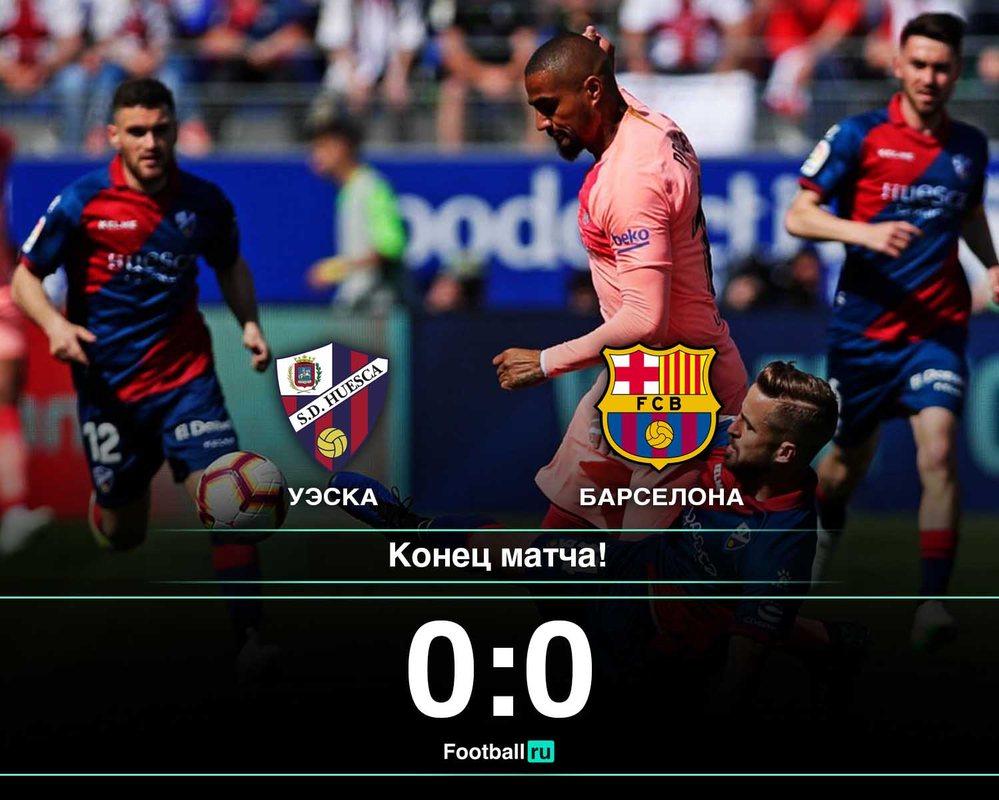 Уэска - Барселона 0:0