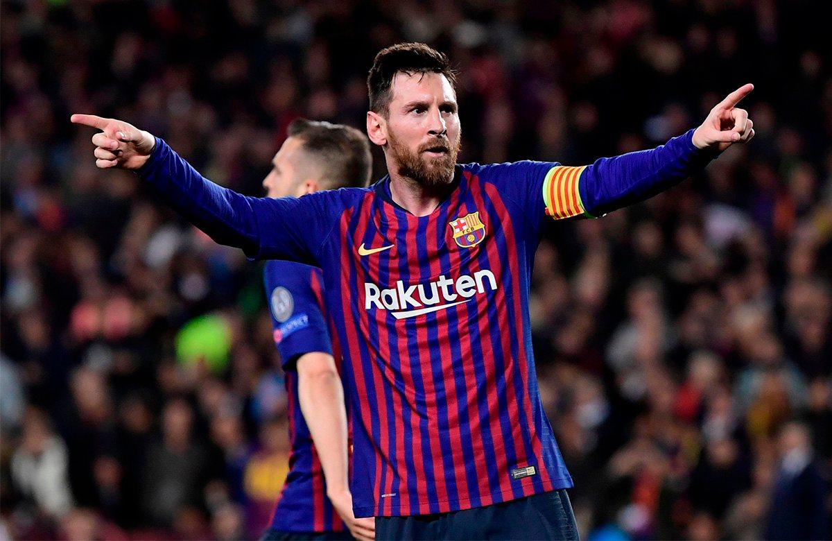 Месси стал лучшим бомбардиром Лиги чемпионов