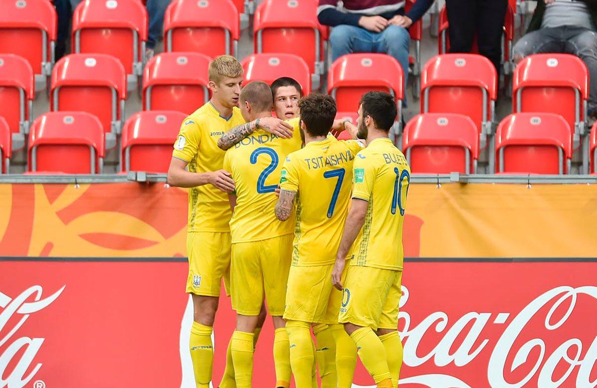 Молодежная сборная Украины в 1/8 финала сыграет с Панамой