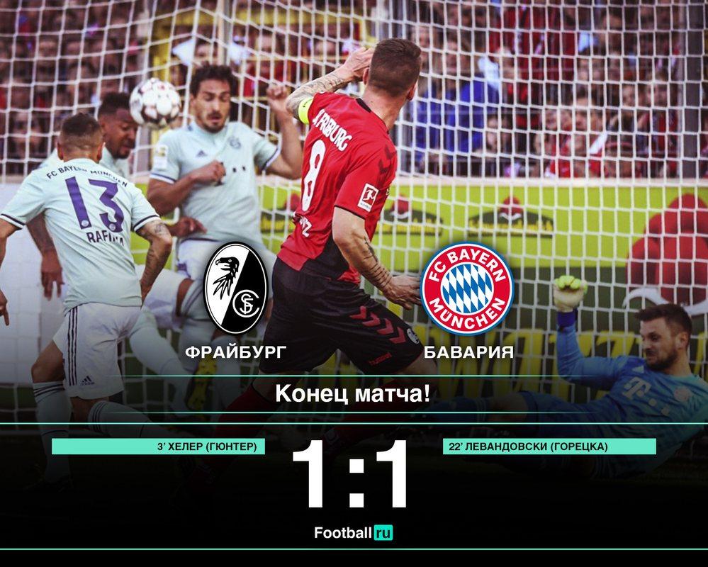 Фрайбург - Бавария 1:1