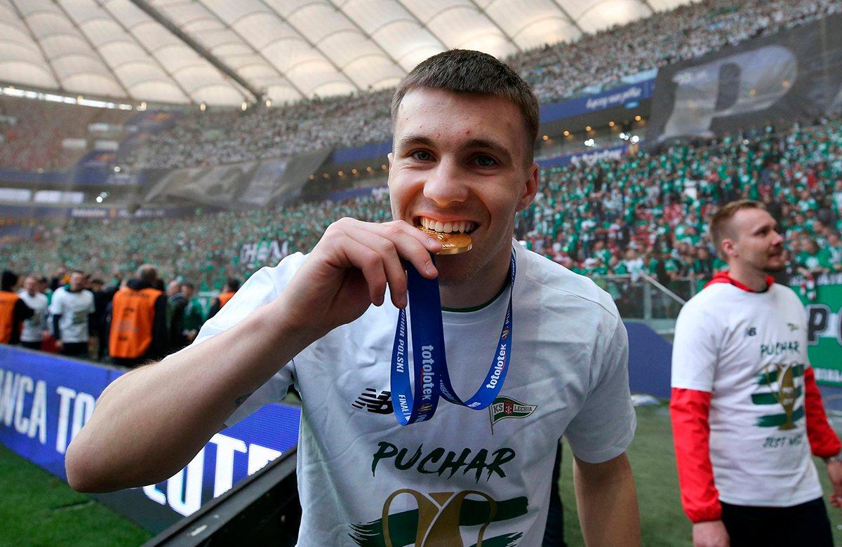 Конрад Михалак выиграл Кубок Польши c Лехией