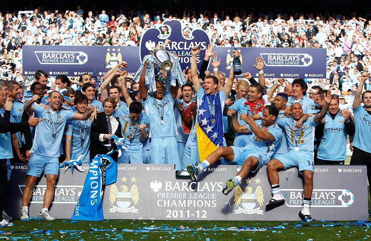 Манчестер Сити 2011/2012