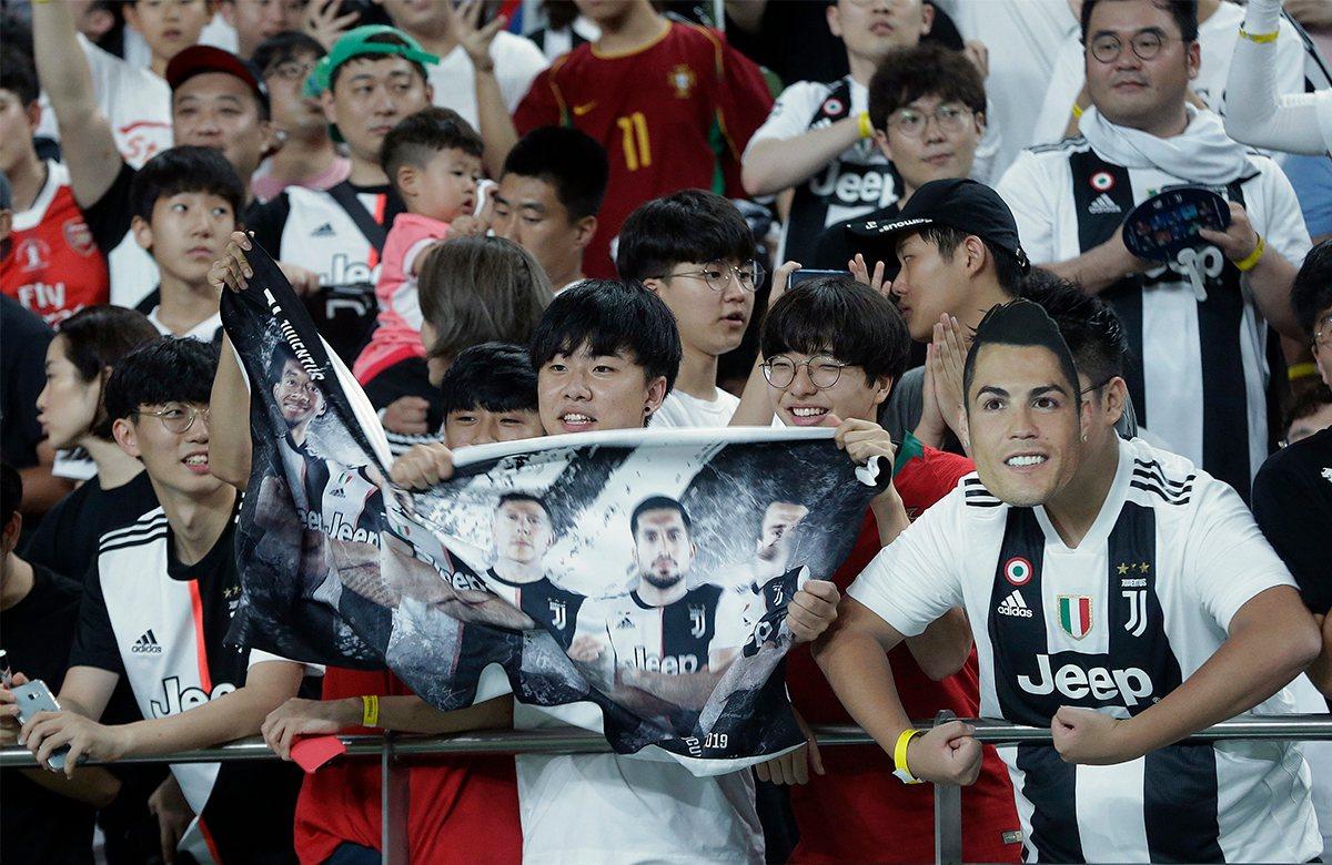Корейские болельщики не дождались появления Роналду