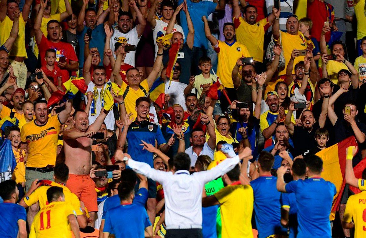 Молодежная сборная Румынии переписывает историю