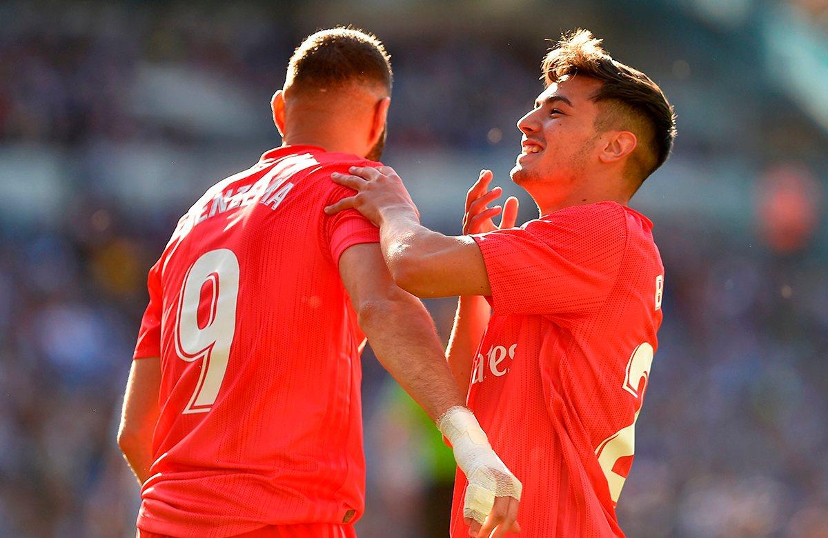 Браим Диас забил дебютный гол за Реал