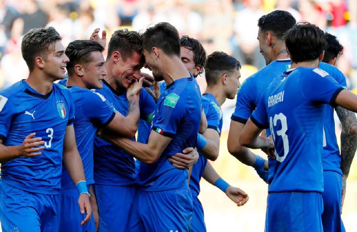Италия вышла в 1/4 финала молодежного чемпионата мира