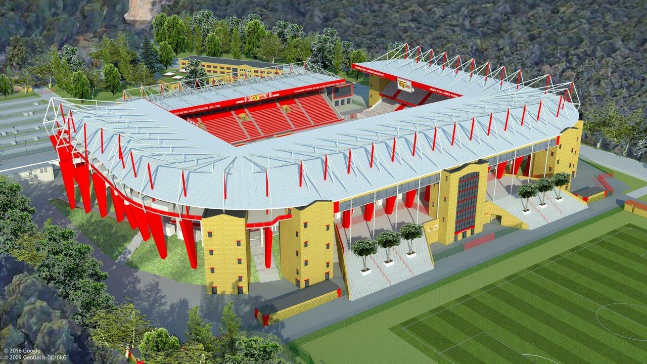 Проект реконструкции стадиона Униона