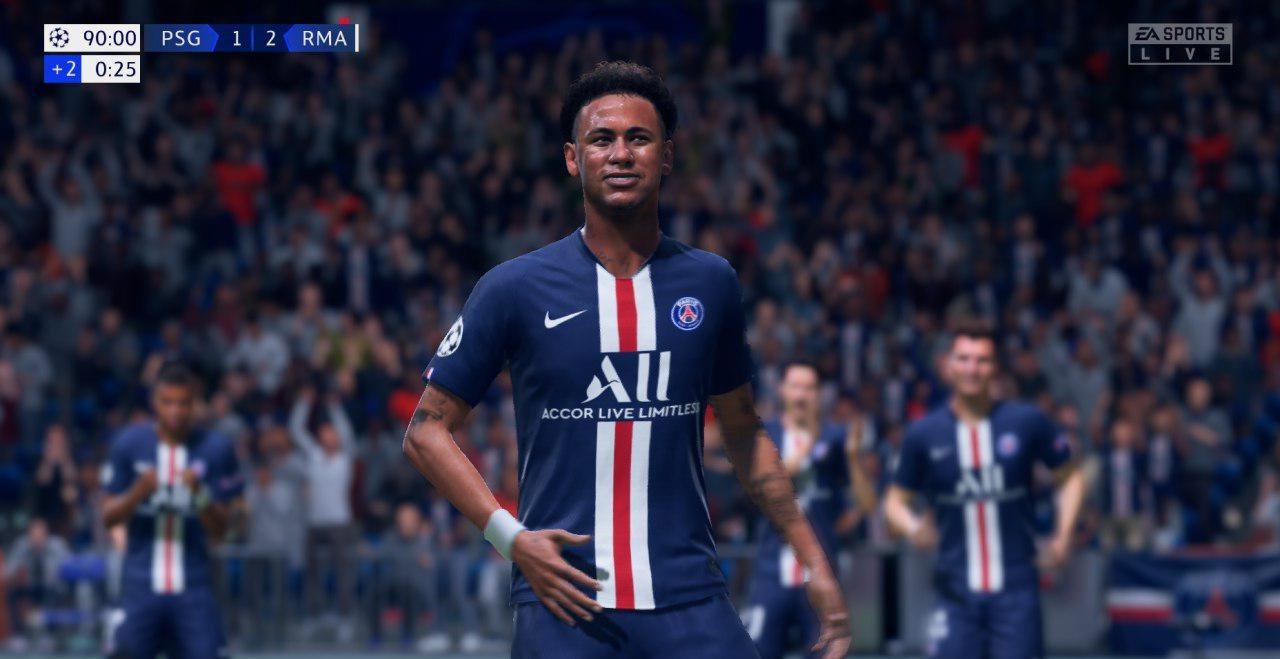 Неймар в FIFA 20