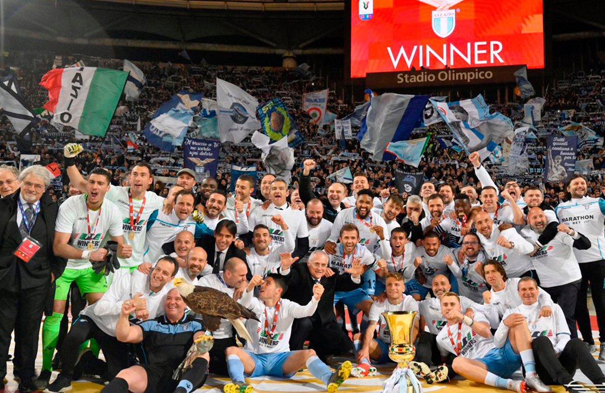 Лацио – семикратный обладатель Кубка Италии