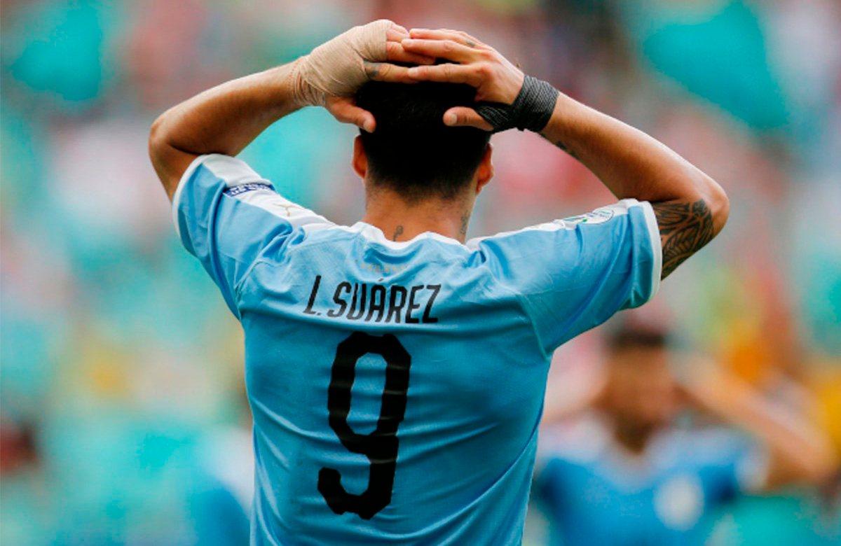 Суарес играл на Копа Америка с травмой