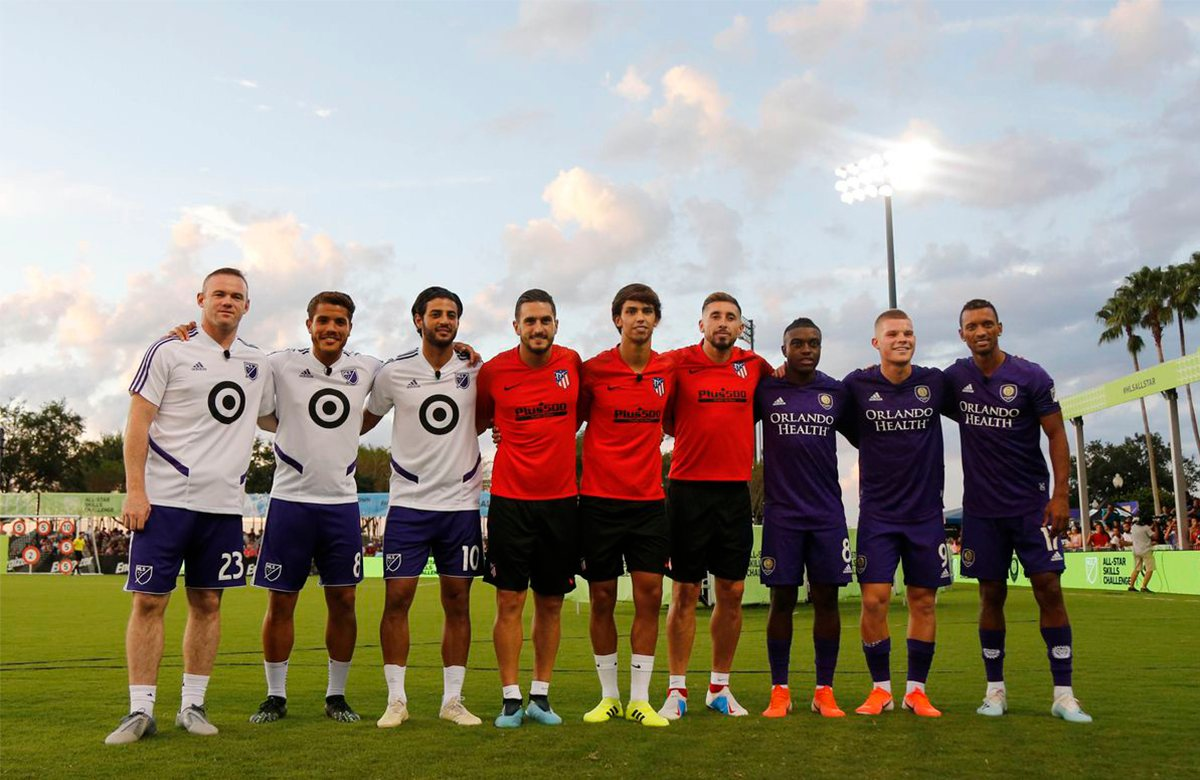 Руни, Вела, Фелиш и Нани приняли участие в MLS AllStar Challenge