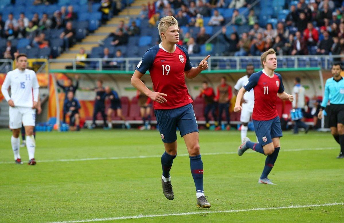 Халанд забил 9 голов на молодежном ЧМ до 20 лет