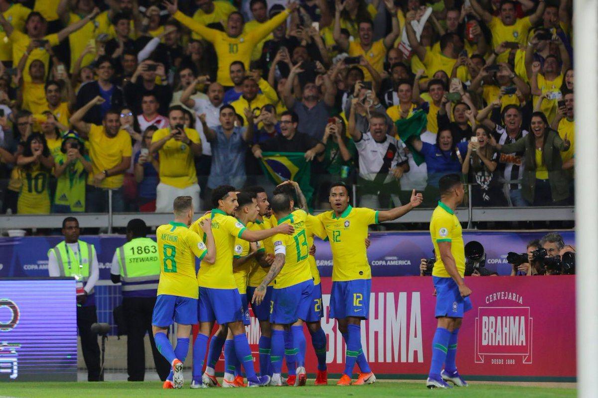 Бразилия наверняка выиграет Копа Америка