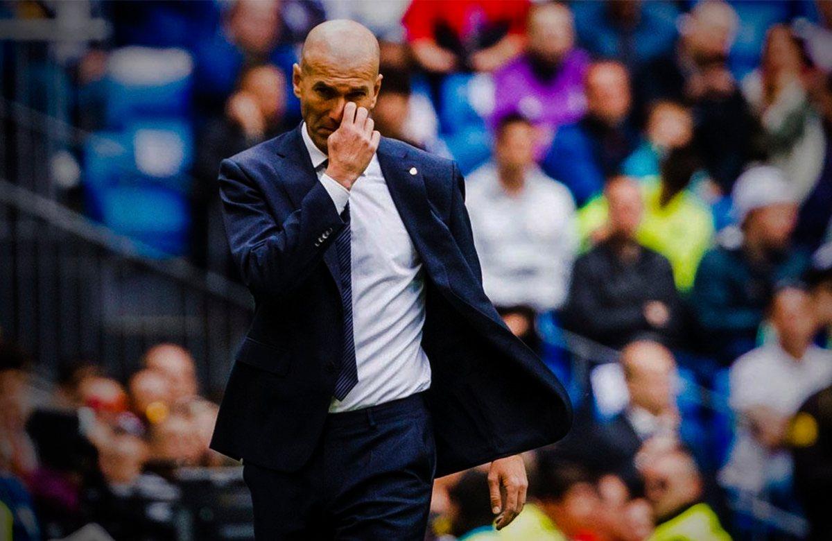 Зидана ждет провал в Реале