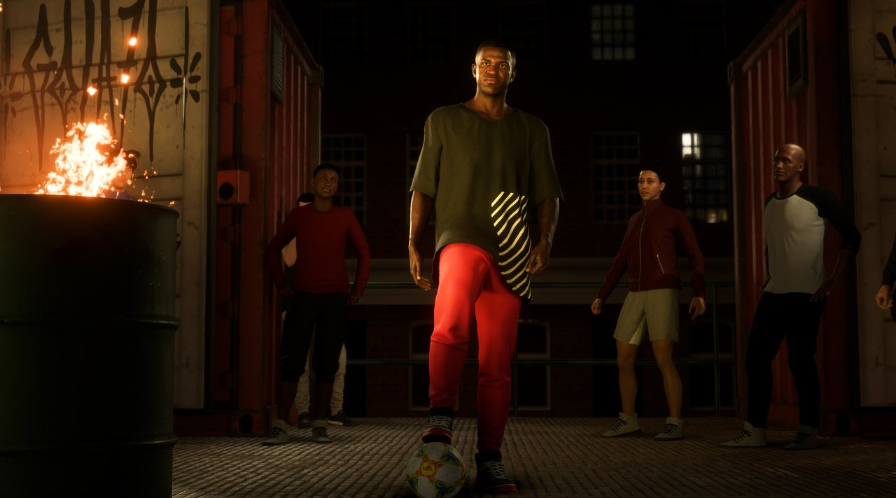 В FIFA Volta можно будет создавать своих игроков