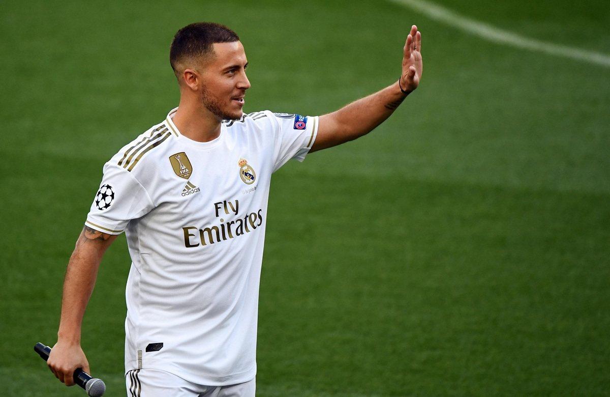Реал потерял Азара из-за травмы