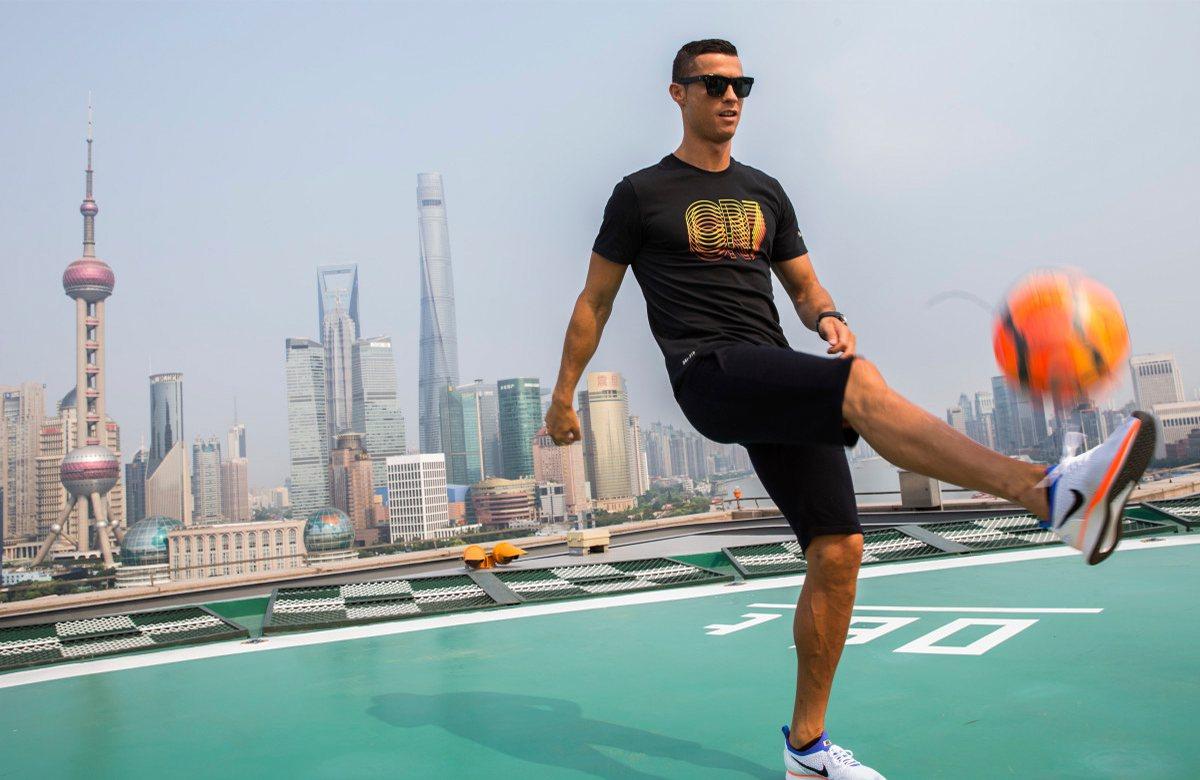 Роналду заработает 162 млн евро от Nike за 7 лет