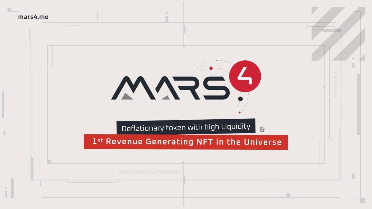 Mars4 — NFT-метавселенная для пассивного заработка. Обзор 2021