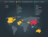 Карта по правовому статусу криптовалют  // Источник: cointelegraph.com