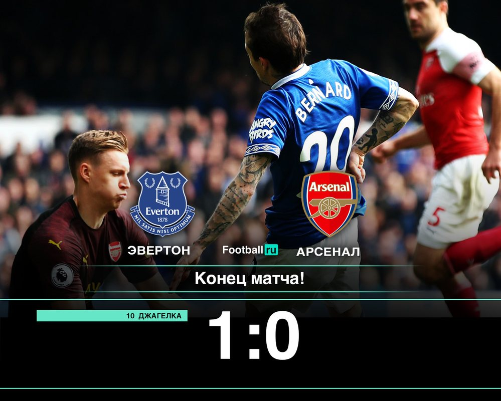 Эвертон - Арсенал 1:0