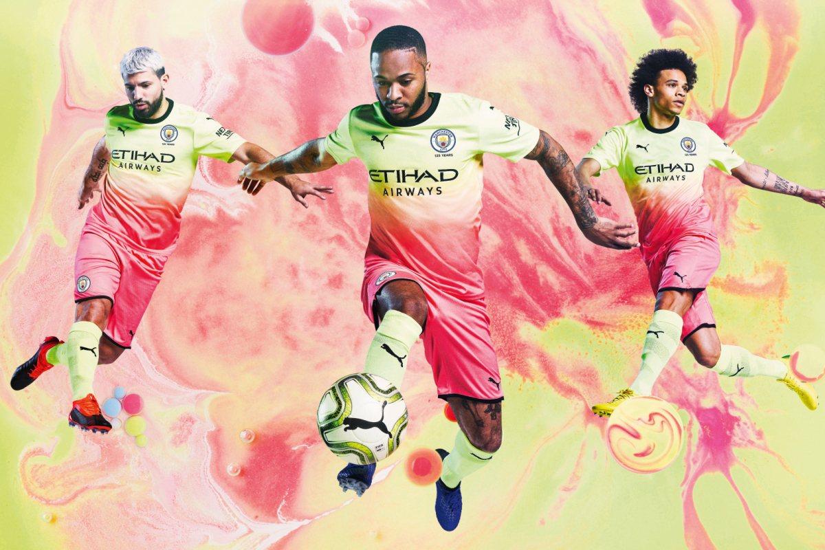 Третий комплект Манчестер Сити на сезон-2019/20