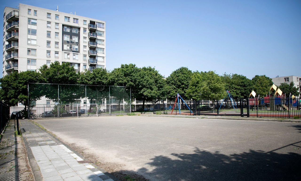 Площадка, на которой в детстве играл Вейналдум