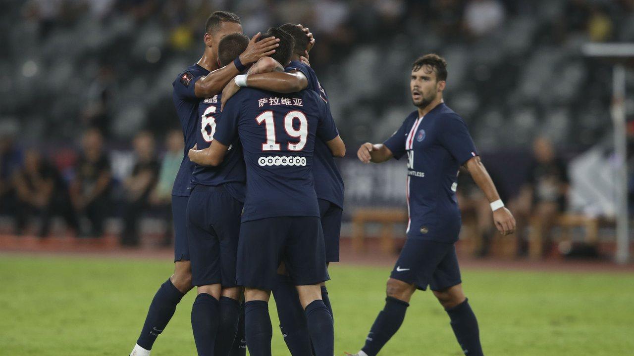 Суперкубок Франции прошел в Китае