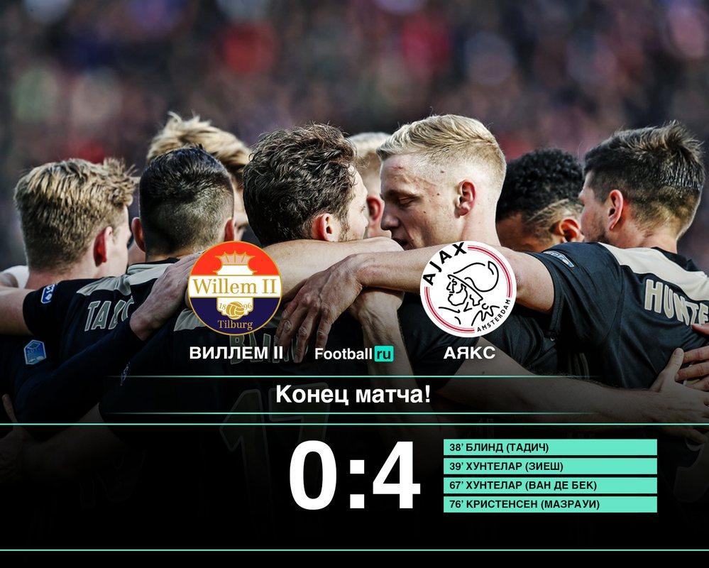 Аякс завоевал Кубок Голландии