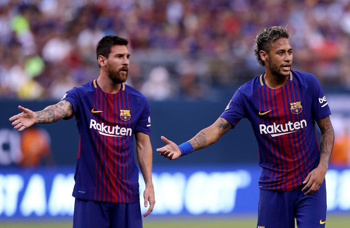 Месси хочет видеть Неймара в Барселоне