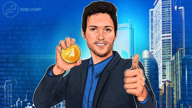Павел Дуров, создатель криптовалюты Gram