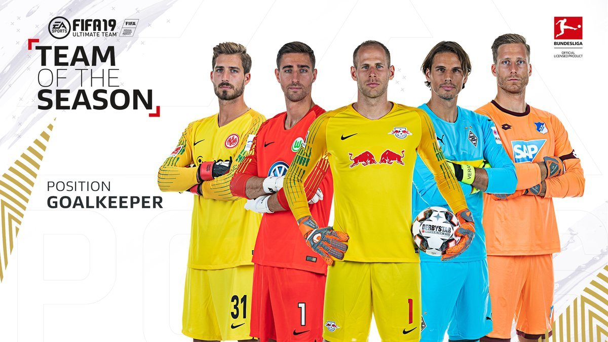 Пять лучших вратарей сезона Бундеслиги